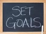 Set goals.